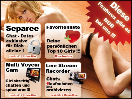 Webcam Sex Chat mit Separee Chat